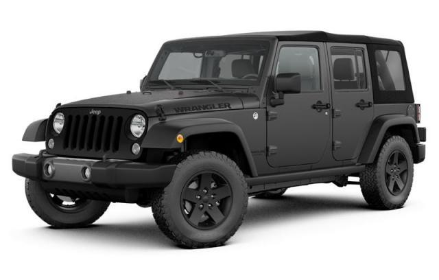 2017 Jeep Wrangler Unlimited Big Bear SUV