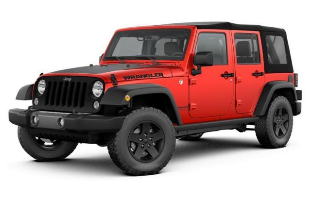 2017 Jeep Wrangler Unlimited 4X4 SUV