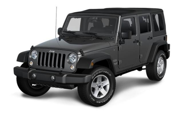 2017 Jeep Wrangler Unlimited Sport S SUV