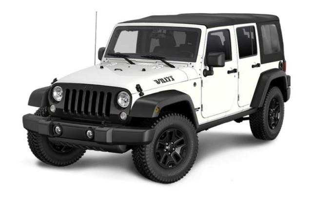 2017 Jeep Wrangler Unlimited Willys Wheeler SUV