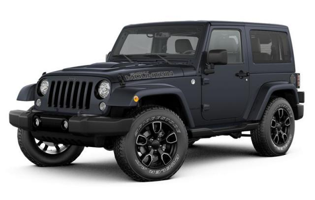 2017 Jeep Wrangler Smoky Mountain SUV