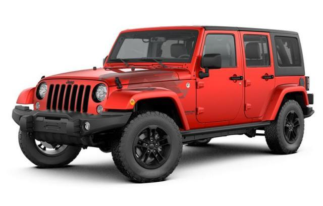 2017 Jeep Wrangler Unlimited Winter Edition SUV