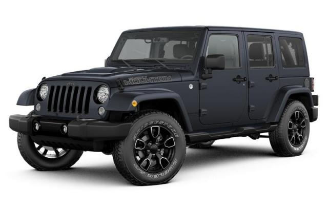 New 2017 Jeep Wrangler Unlimited Smoky Mountain SUV for sale in London, Ontario