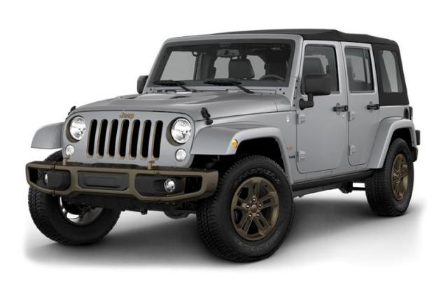 2017 Jeep Wrangler Unlimited 75th Anniversary Edition SUV