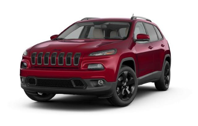 2017 Jeep Cherokee High Altitude SUV
