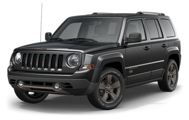 New 2017 Jeep Patriot 75th Anniversary Edition SUV for sale in Victoria BC at Wille Dodge Chrysler Ltd.