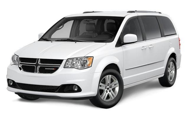 2017 Dodge Grand Caravan Crew Plus Van