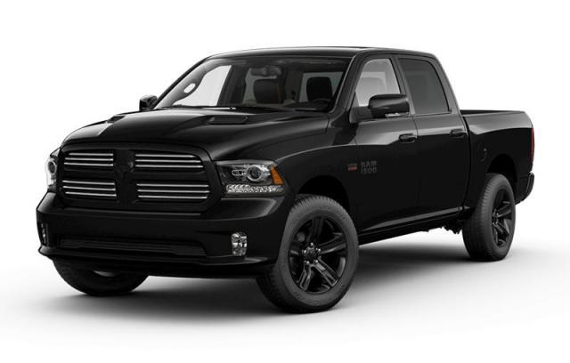 2017 Ram 1500 Black Appearance Camion cabine Crew