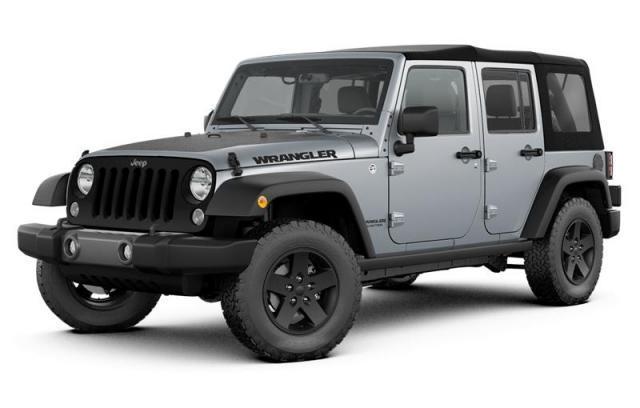 2017 Jeep Wrangler UNLIMITED SPORT 4WD SUV 1C4BJWDG6HL590862