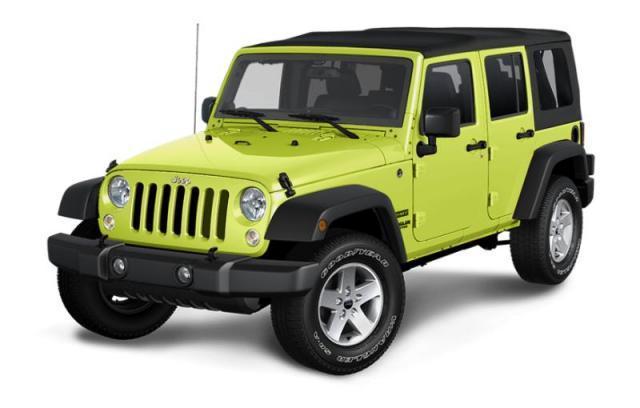 2017 Jeep Wrangler Unlimited Sport S VUS
