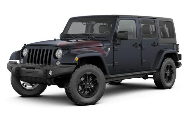 2017 Jeep Wrangler UNLIMITED SAHARA 4WD SUV 1C4BJWEG2HL556206