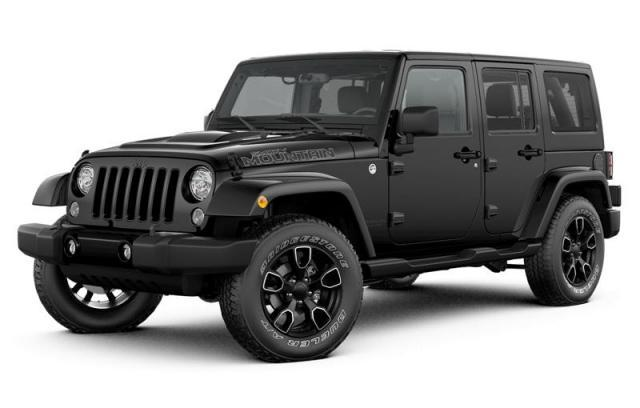 2017 Jeep Wrangler Unlimited Smoky Mountain SUV