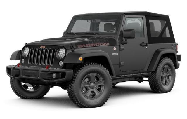 2017 Jeep Wrangler Recon VUS