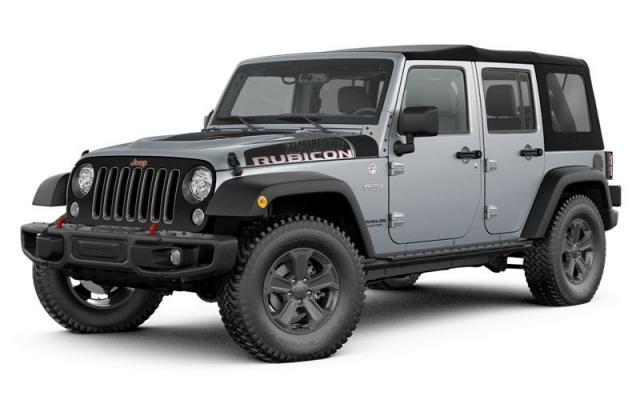 2017 Jeep Wrangler Unlimited Rubicon Recon 4WD  Rubicon Recon *Ltd Avail*