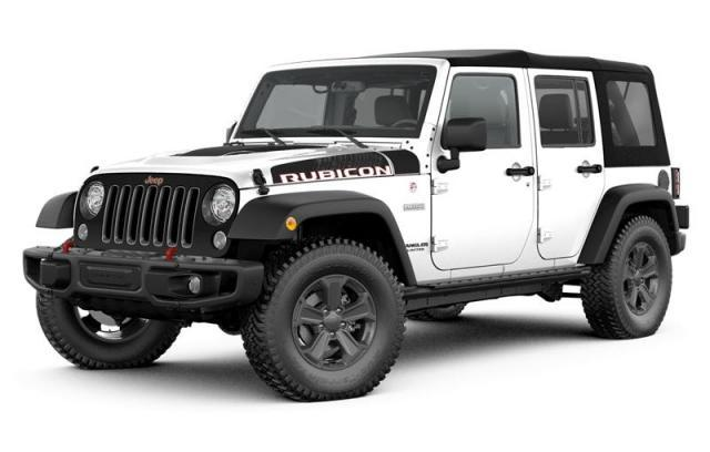 2017 Jeep Wrangler Unlimited Rubicon VUS