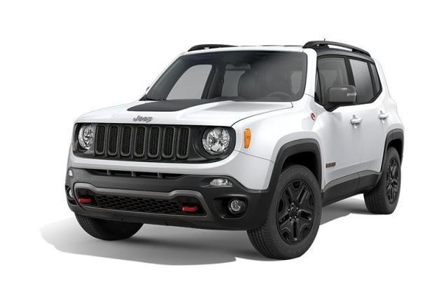 New 2018 Jeep Renegade Trailhawk SUV for sale in Victoria BC at Wille Dodge Chrysler Ltd.