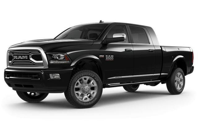 2018 Ram 3500 Limited Tungsten Edition Truck Mega Cab