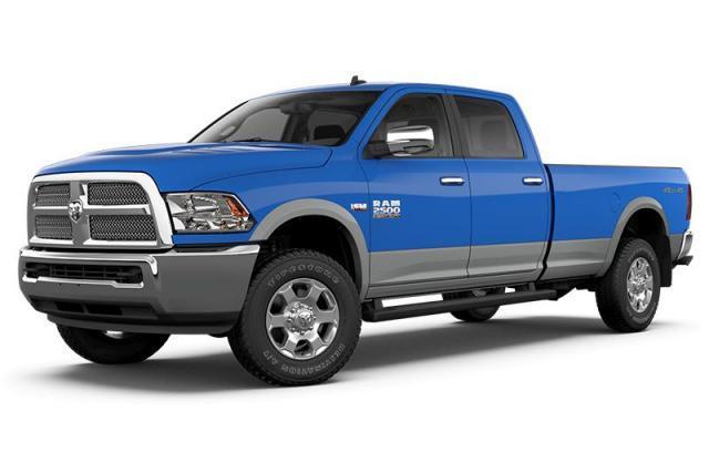 2018 Ram 2500 Harvest Edition Truck Crew Cab