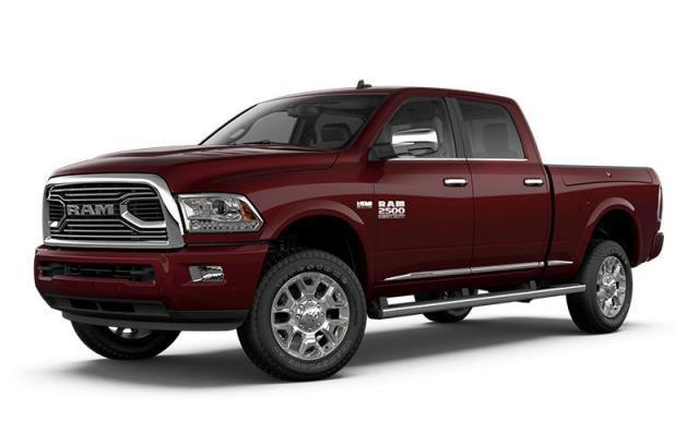 2018 Ram 2500 Limited Tungsten Edition Truck Crew Cab
