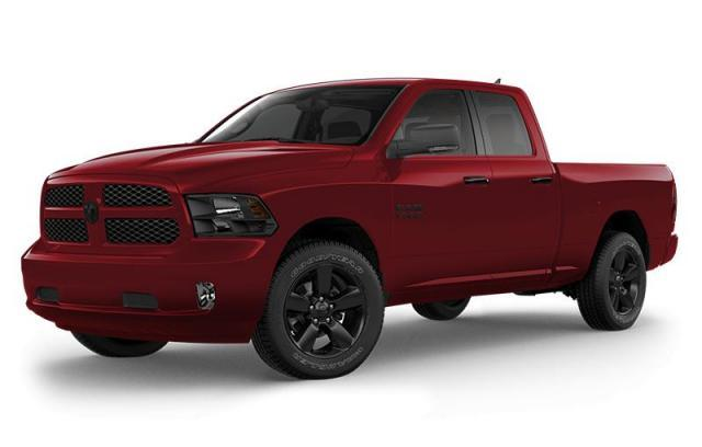 New 2018 Ram 1500 Express Blackout Truck Quad Cab for sale in Victoria BC at Wille Dodge Chrysler Ltd.