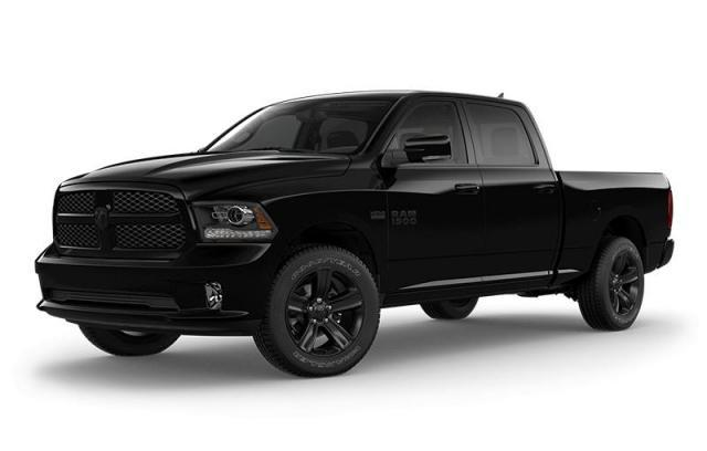 2018 Ram 1500 Night Edition Camion cabine Crew