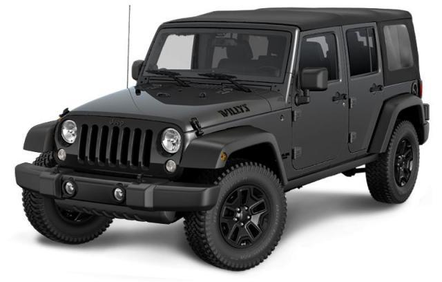2018 Jeep Wrangler JK Unlimited Willys Wheeler SUV