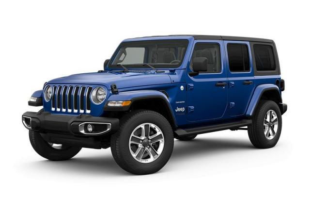 New 2018 Jeep All-New Wrangler Unlimited Sahara SUV for sale in Victoria BC at Wille Dodge Chrysler Ltd.