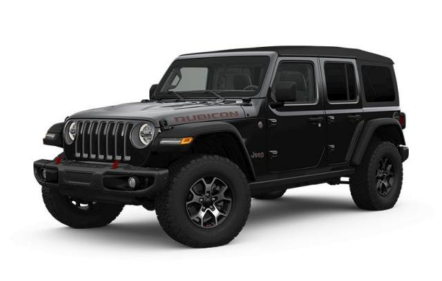 2018 Jeep Wrangler JL Unlimited Rubicon Leather Interior, LED Lighting Group, Steel Bumper Group, NAV & Sound Group, Cold Weather Group, Hard Top, Remote Proximity Entry