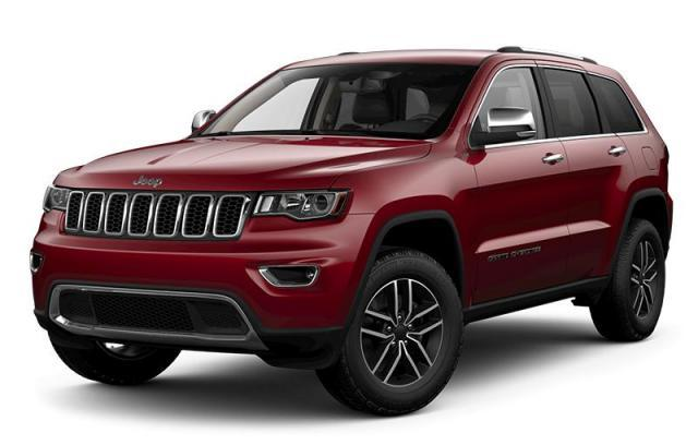 2018 Jeep Grand Cherokee Limited SUV Pentastar VVT V6 w/ESS