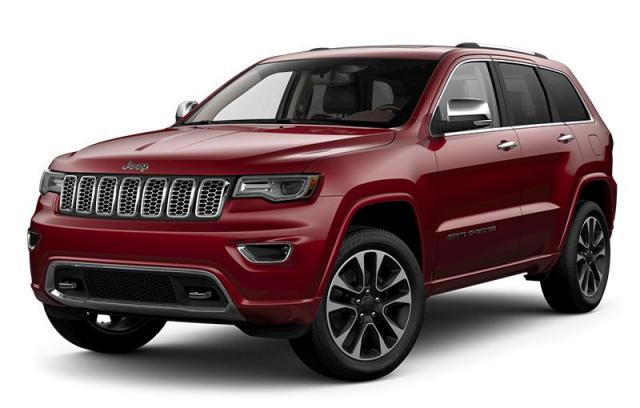 New 2018 Jeep Grand Cherokee Overland SUV in Windsor, Ontario