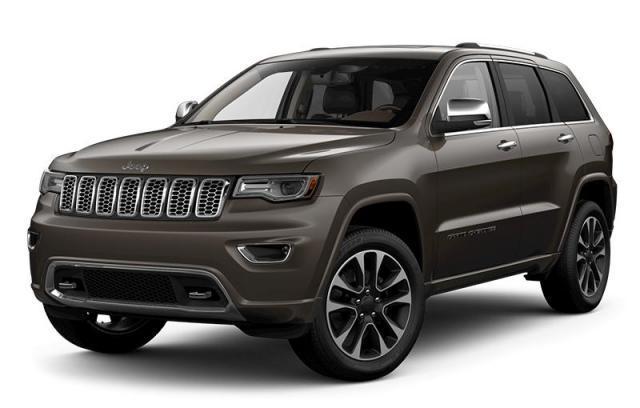 2018 Jeep Grand Cherokee Overland VUS