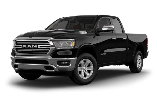 2019 Ram 1500 Laramie - Lthr-Faced FRT Vented Bucket Seats Truck Quad Cab