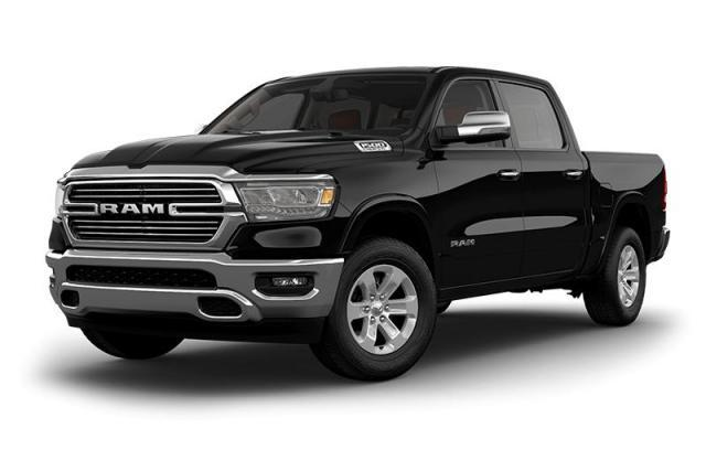 2019 Ram All-New 1500 Laramie 4x4, Leather, GPS, Sunroof Truck Crew Cab