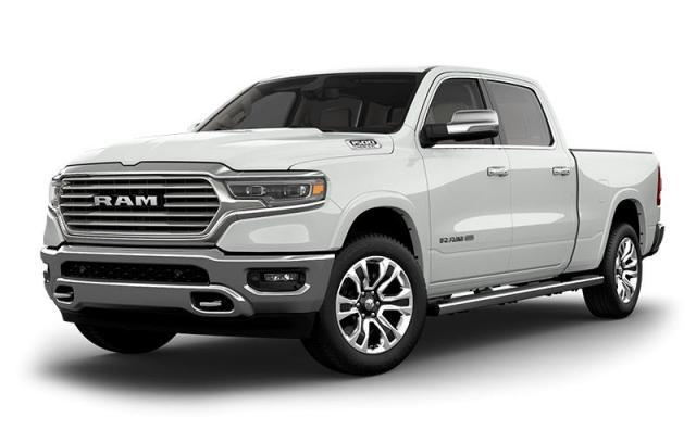 2019 Ram All-New 1500 Laramie Longhorn|PANORAMIC SUNROOF|12 INCH UCONNECT TOUCHSCREEN|BLINDSPOT MONITORING|ADAPTIVE CRUISE CONTROL Truck Crew Cab