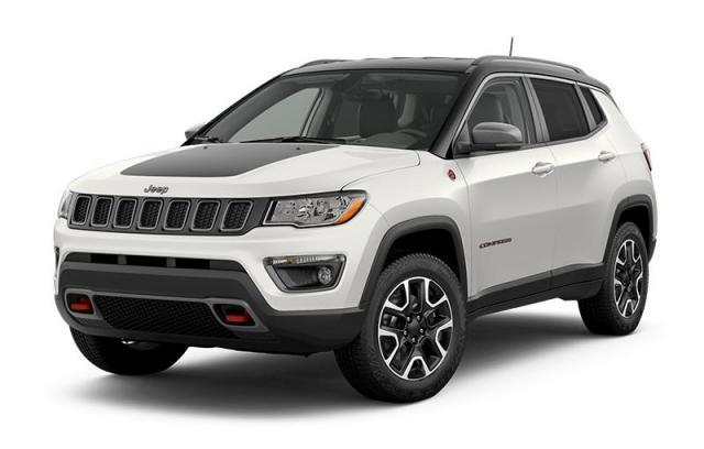 Jeep Compass 2019 White And Black