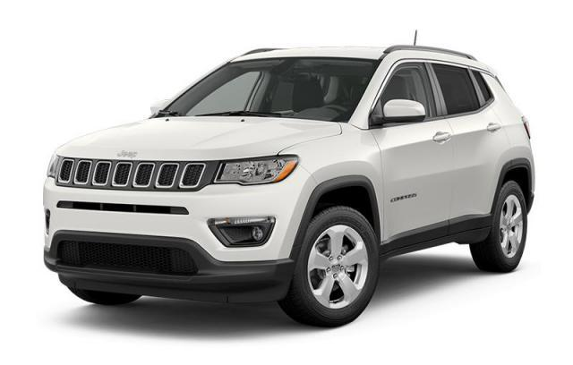 2019 Jeep Compass North 4x4 – White – Cold Weather Group, Safe & Security Grou