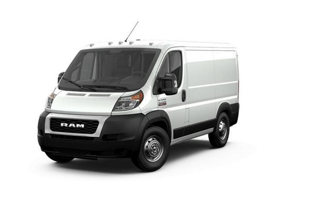 2019 Ram ProMaster 1500 Low Roof 118 in. WB Van Cargo Van
