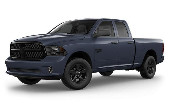New 2020 Ram 1500 Classic Night Edition Truck Quad Cab for sale in Victoria BC at Wille Dodge Chrysler Ltd.