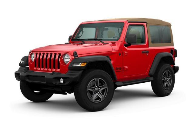 2020 Jeep Wrangler Black and Tan Edition VUS