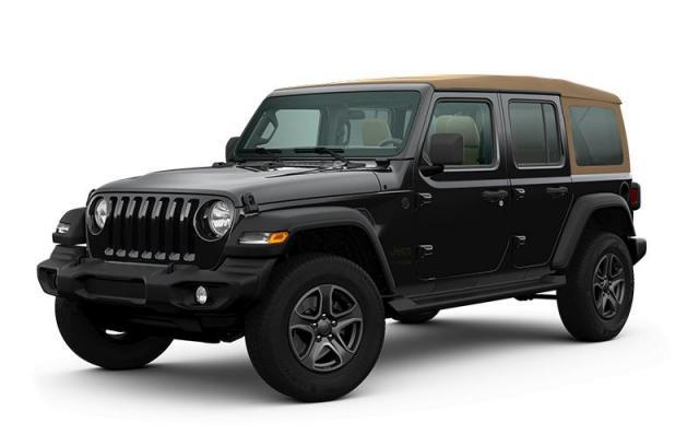 2020 Jeep Wrangler Unlimited Black and Tan Edition VUS