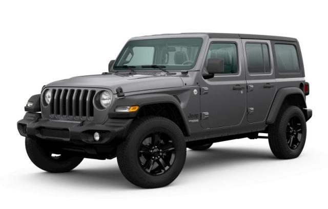 New 2020 Jeep Wrangler Unlimited Sport Altitude SUV for sale in Victoria BC at Wille Dodge Chrysler Ltd.