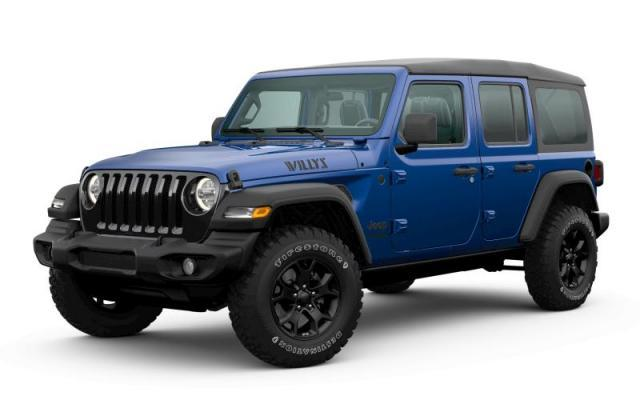 2020 Jeep Wrangler Unlimited Willys Edition VUS