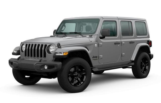 2020 Jeep Wrangler  Unlimited Sahara Altitude 4X4 HEATLEATHER-BACKUPC SUV