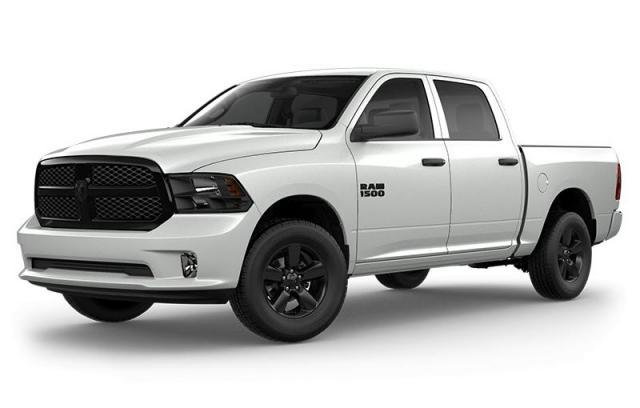 New 2021 Ram 1500 Classic Night Edition Truck Crew Cab for sale in Victoria BC at Wille Dodge Chrysler Ltd.