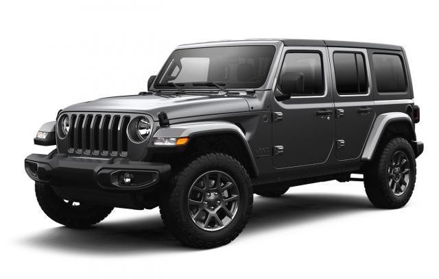 2021 Jeep Wrangler Unlimited Sahara 80th Anniversary Edition