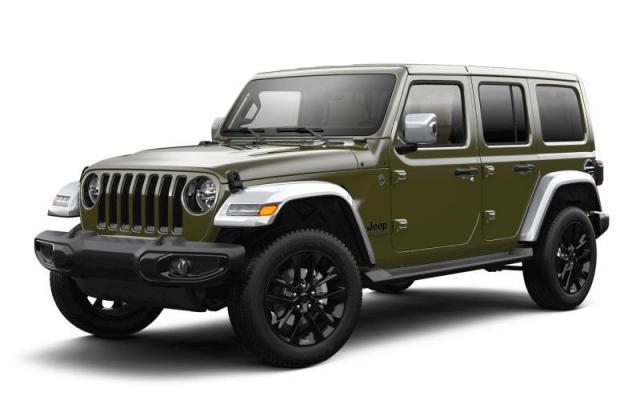 2021 Jeep Wrangler Unlimited Sahara SUV