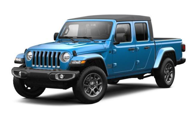 2021 Jeep Gladiator 80th Anniversary Edition Camion cabine Crew