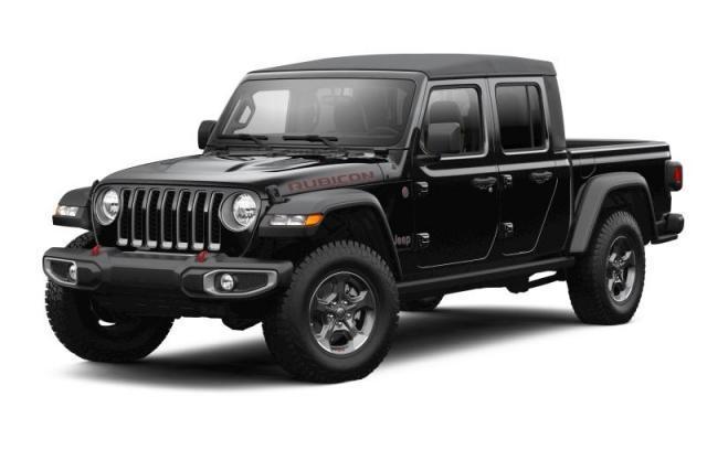 2021 Jeep Gladiator Rubicon 4x4 Crew Cab 5 ft. box