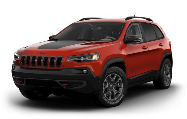 New 2021 Jeep Cherokee Trailhawk 4x4 for sale in Victoria BC at Wille Dodge Chrysler Ltd.